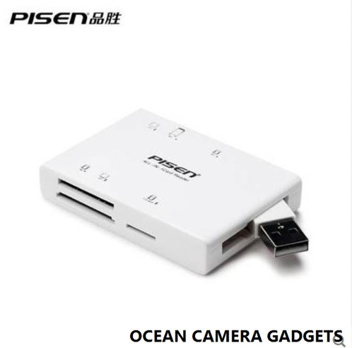 Pisen multi function card reader ii digital cameracell phoneflash pisen multi function card reader ii digital cameracell phoneflash media memory is now in ocean camera gadgets camera store best price in singapore publicscrutiny Image collections