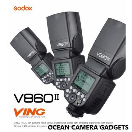 Godox V860II N 860 Nikon VING TTL Li-ion Camera Flash Speedlite Strobe For Nikon