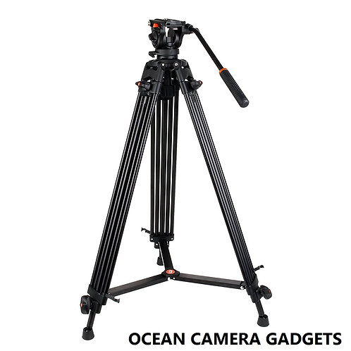 COMAN KX3636 Professional Video Tripod Heavy Duty Fluid Head