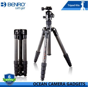 Benro C2690TB1 Travel Angel Professional Carbon Fiber Tripod For Camera