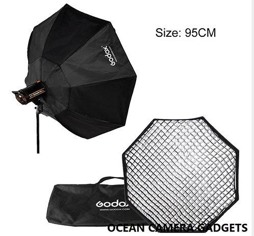 Godox Octagon 95cm with Grid light Softbox for Studio Strobe Bowen Mount