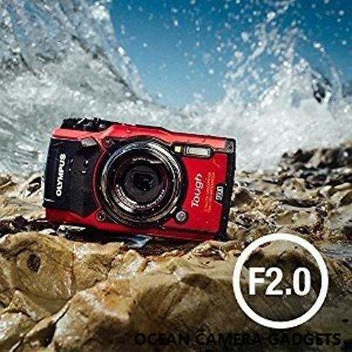 Olympus Tough TG-5 TG5 Waterproof Digital Camera with 3-Inch LCD