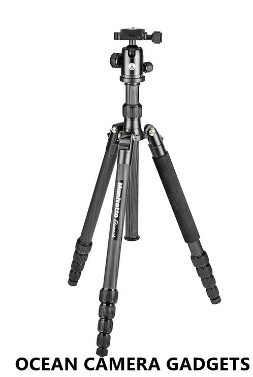 Manfrotto MKELES5CF-BH Element Traveller carbon fiber Tripod With BallHead