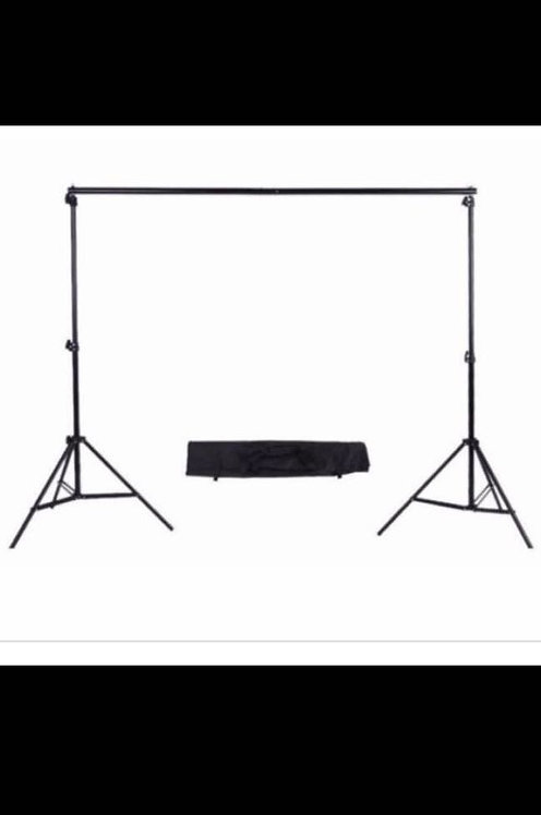 Professional Photo Studio 2.6x3m2.88x3m Backdrop Background Stand Support