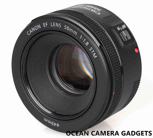 Canon EF 50mm f/1.8 STM f1.8 Lens big aperture