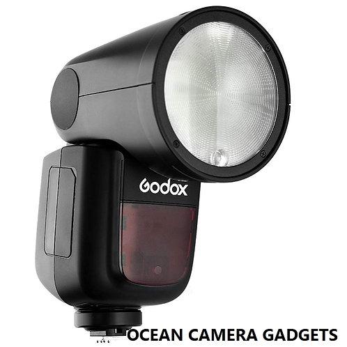 Godox V1 TTL Li-ion Round Head Camera Flash V-1 for Canon Nikon Sony camera