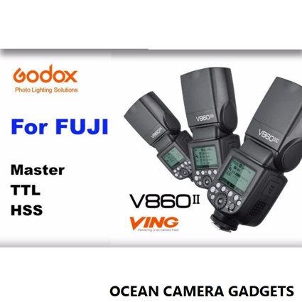 Godox VING V860II F Fuji TTL Li-Ion Flash Speedlight Kit for Fujifilm Cameras