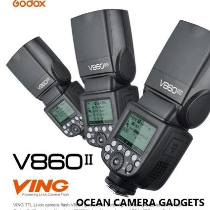 Godox Ving V860II S 2.4G HSS TTL Li-on Battery Camera Flash Speedlight for Sony