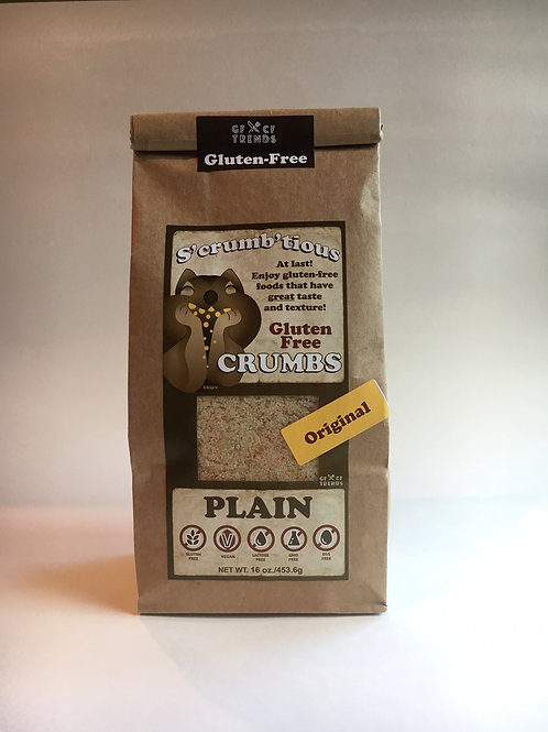 Original S'crumb'tious CRUMBS - Plain  (12 lbs)