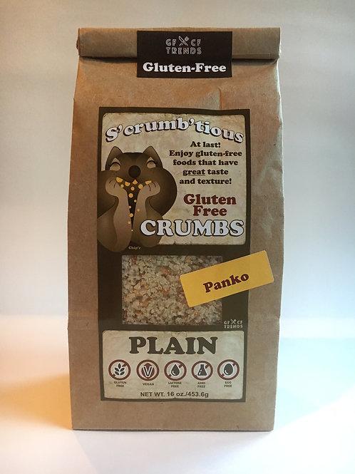 Panko S'crumb'tious CRUMBS - Plain  (16 ounces)