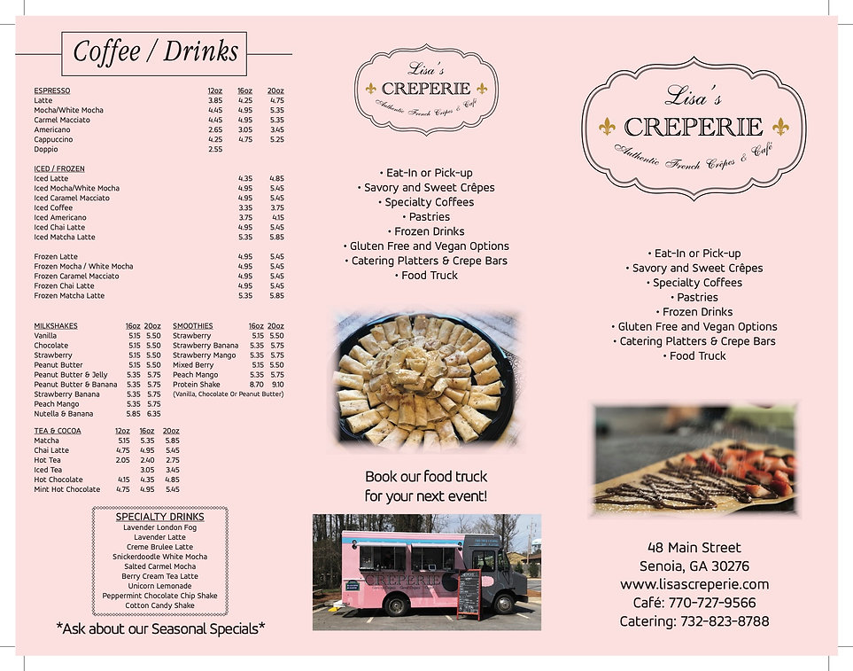 Lisa's Crepeie Brochure UPDATE 9.9.2020