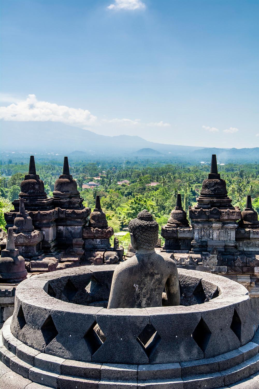 Reiseblog Borobudur Tempel