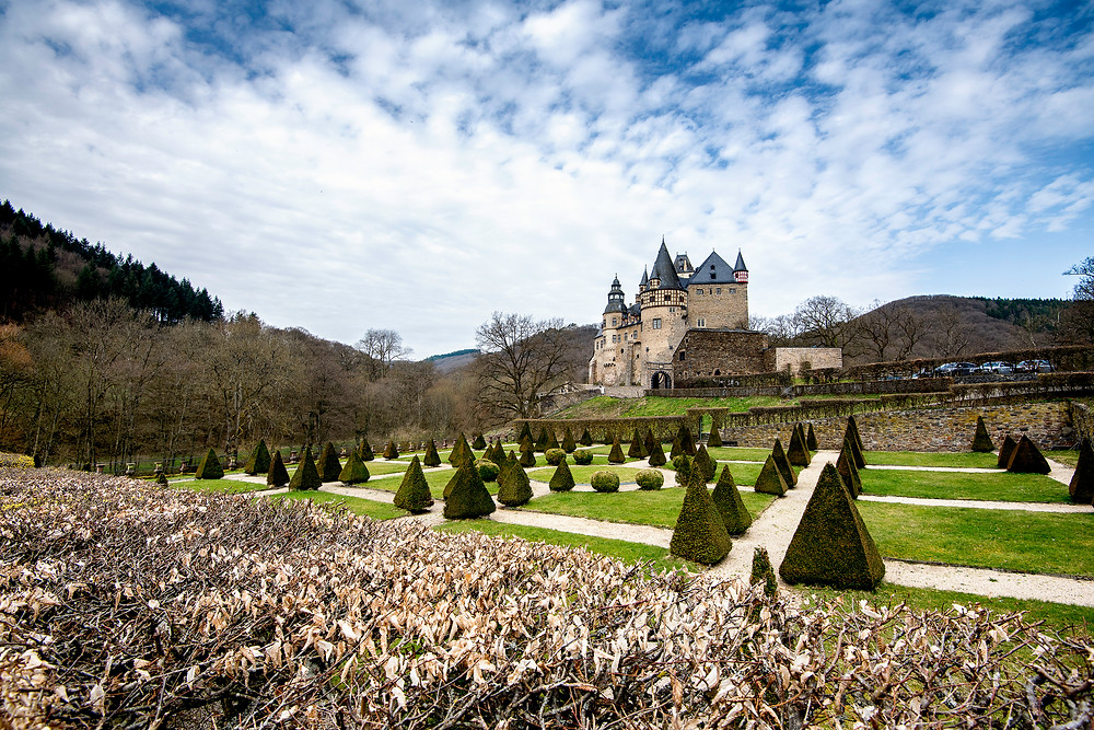 Schloss Bürresheim bei Mayen Rheinland - Pfalz