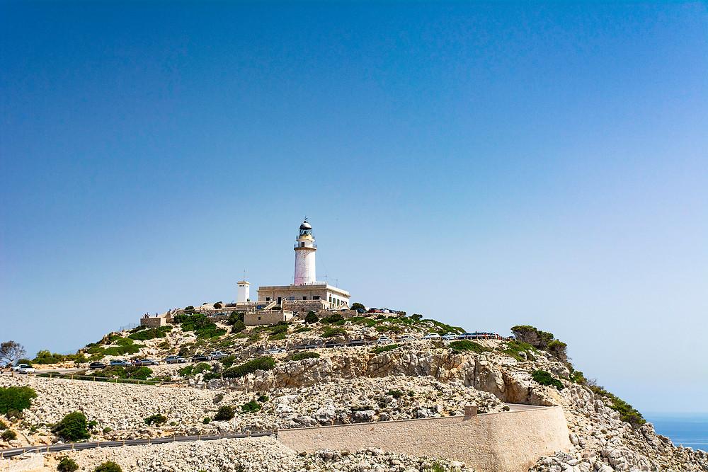 Der Leuchtturm am Cap Formentor