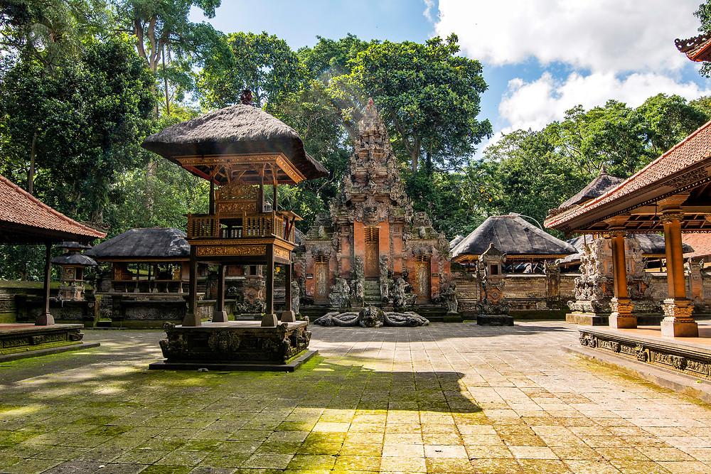 Der Pura Dalem Agung ist der Tempel der Todesgöttin Durga