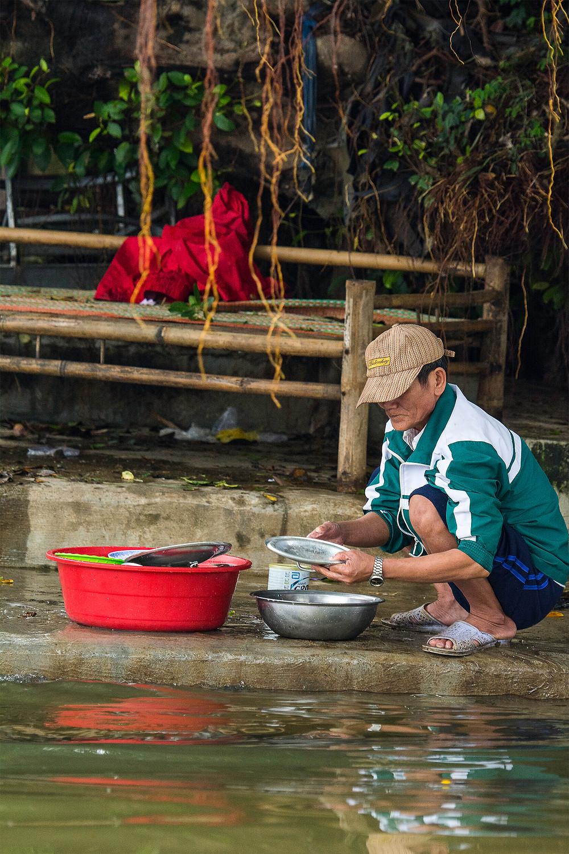 Das Leben der Bevölkerung am Parfümfluss in Hue