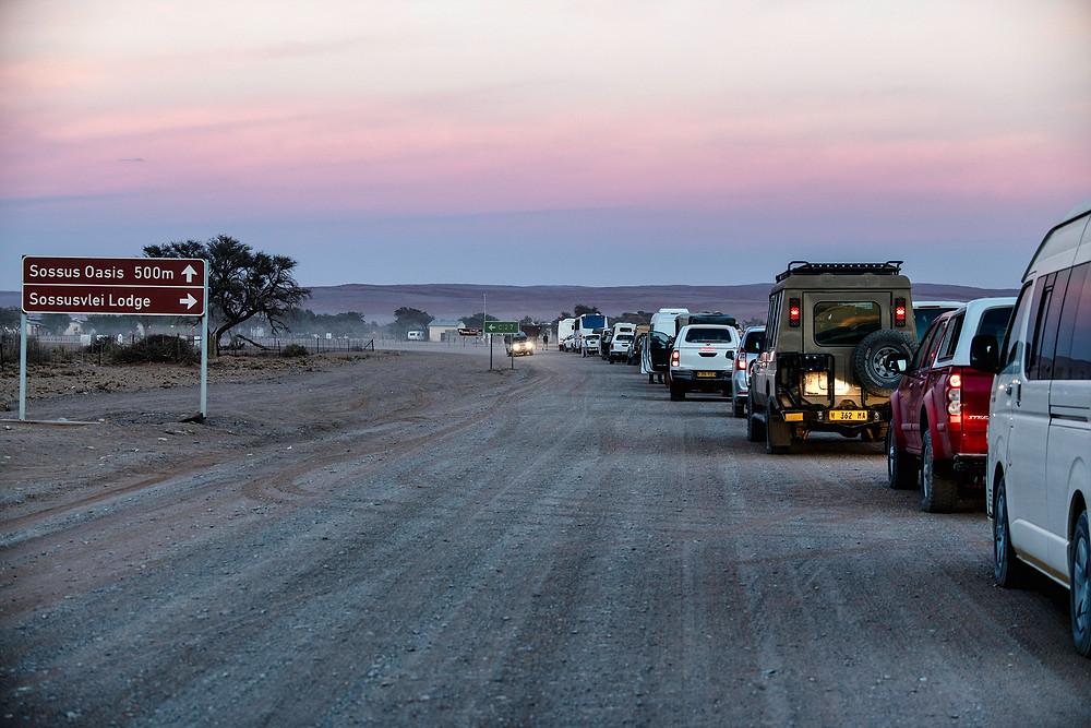 Gate am Sossusvlei Namibia