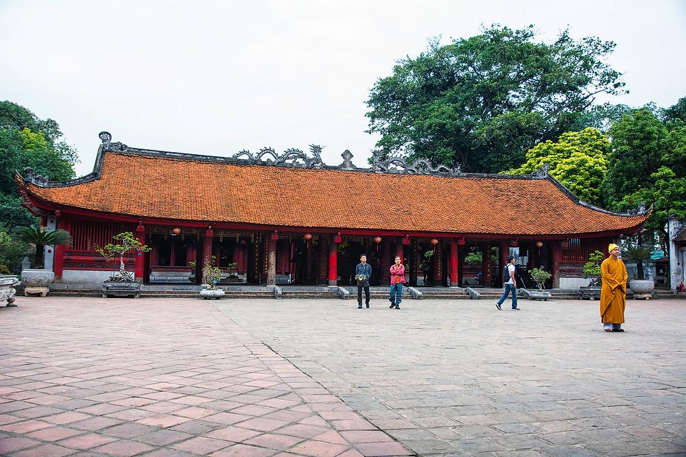 Der Literaturtempel in Hanoi