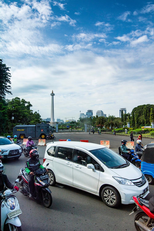Marmorobelisk Jakarta Monas