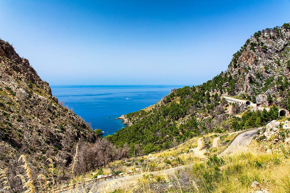 Küstenstraße Ma-10 auf Mallorca