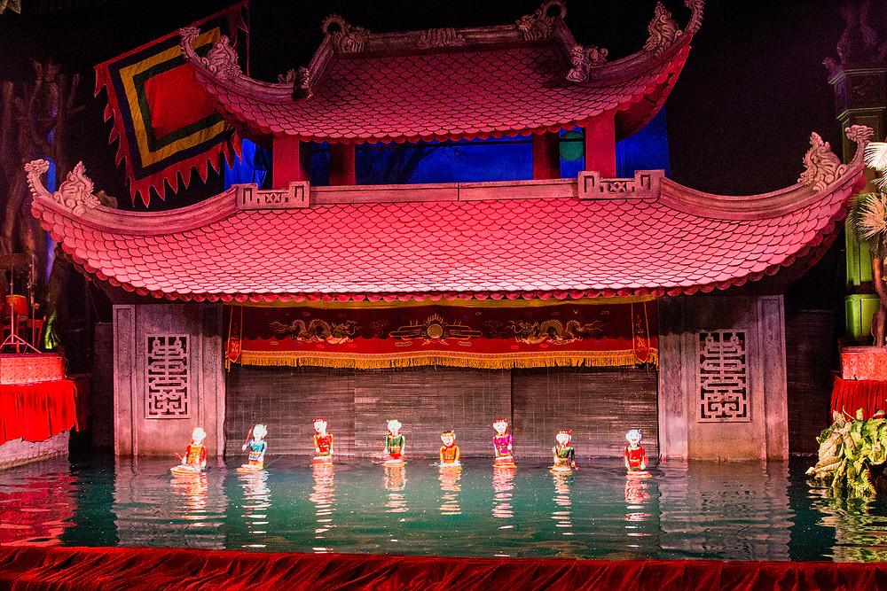 Thang-Long-Wasserpuppentheater in Hanoi