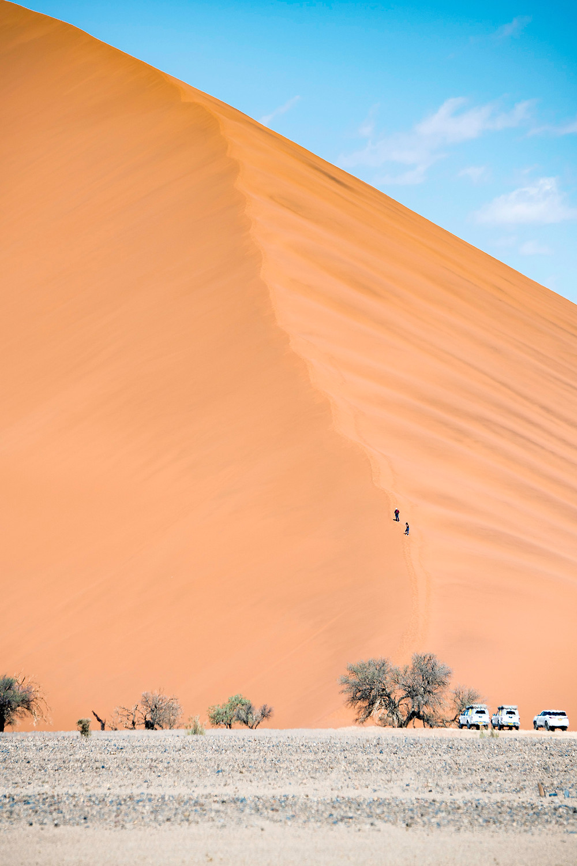 Düne 45 im Sossusvlei Namibia