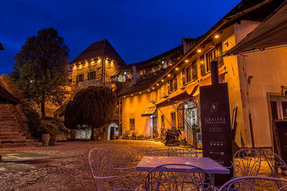 So ruhig wie hier ist es wohl nicht oft in der Burg von Bled