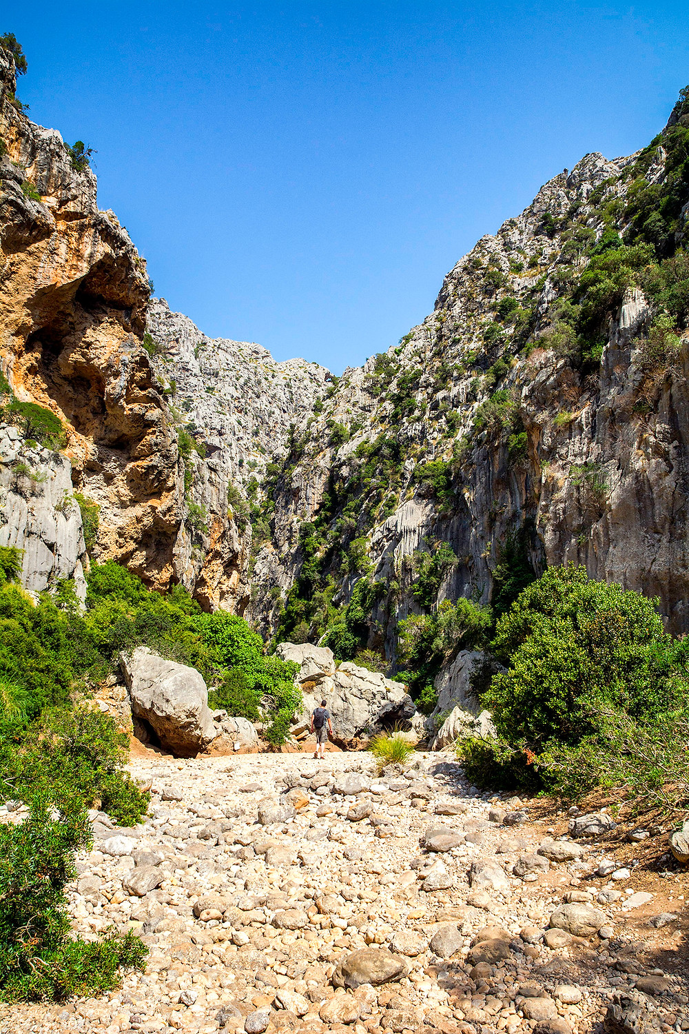 Der Torrent de Pareis in Mallorca