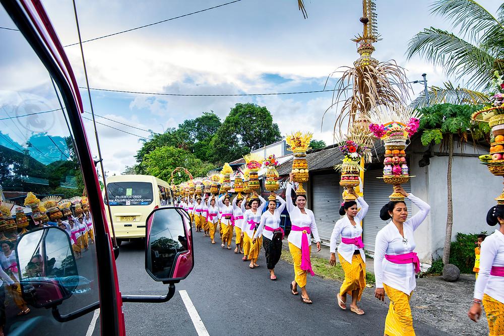 Der Geburtstag eines Tempels auf Bali