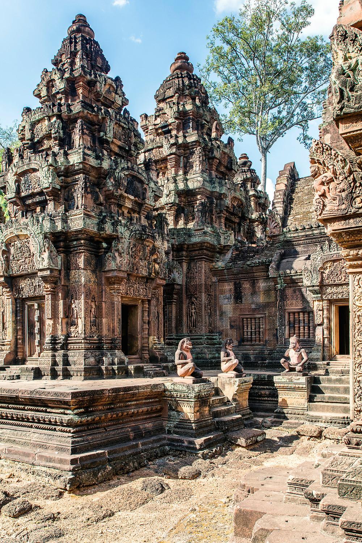 Banteay Srei die Festung der Frauen