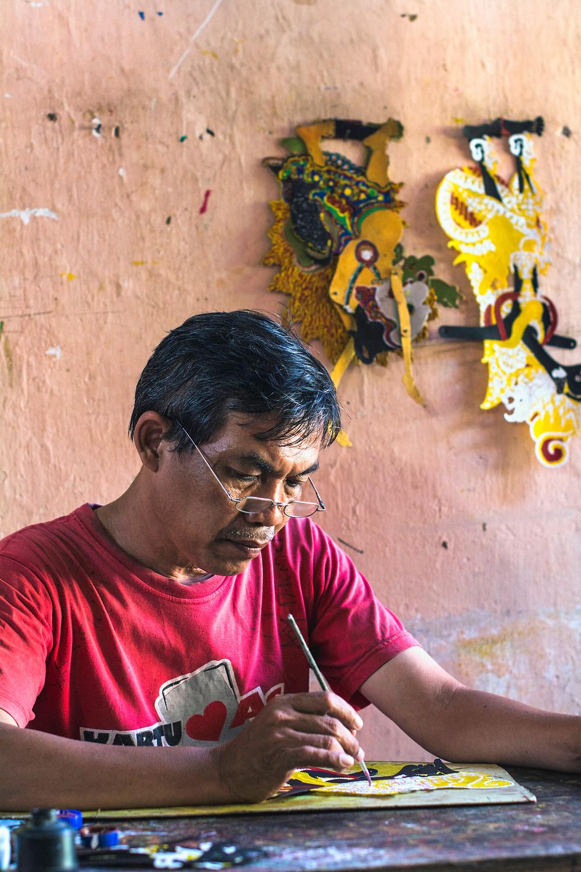 Reiseblog Schattenfiguren Yogyakarta