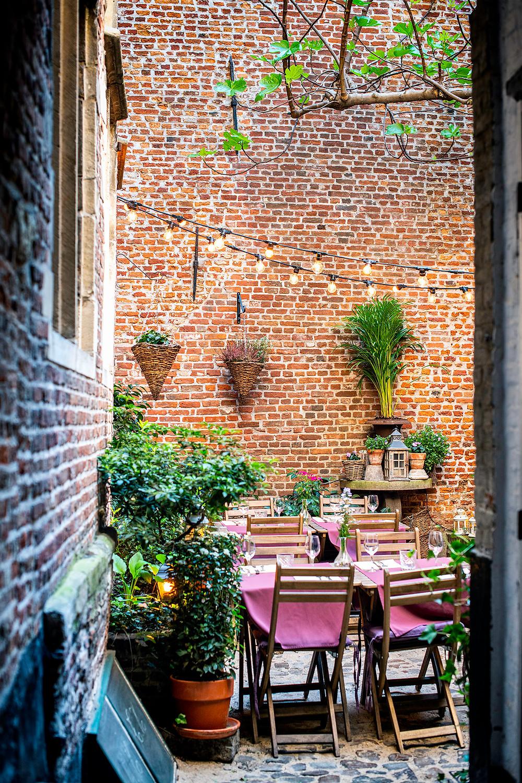 Restaurant im Vlaeykensgang Antwerpen