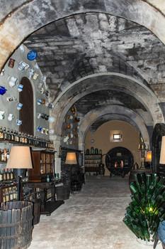 Der Weinkeller im Herrenhaus Els Calderérs Mallorca