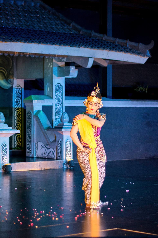 javanesische Tanzaufführung