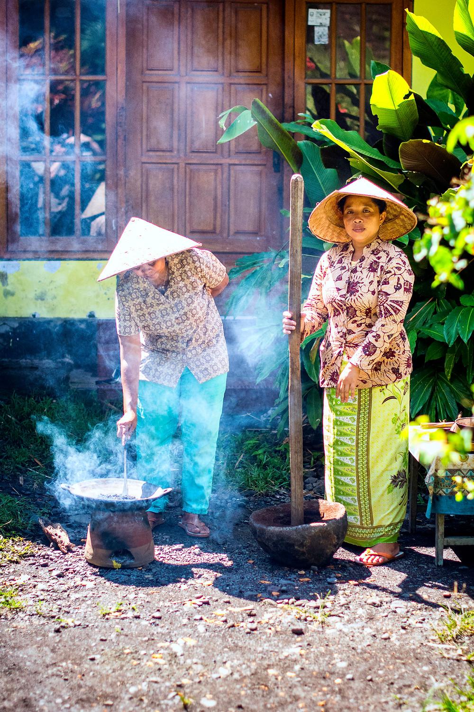 Kaffebohnen aus Java Indonesien