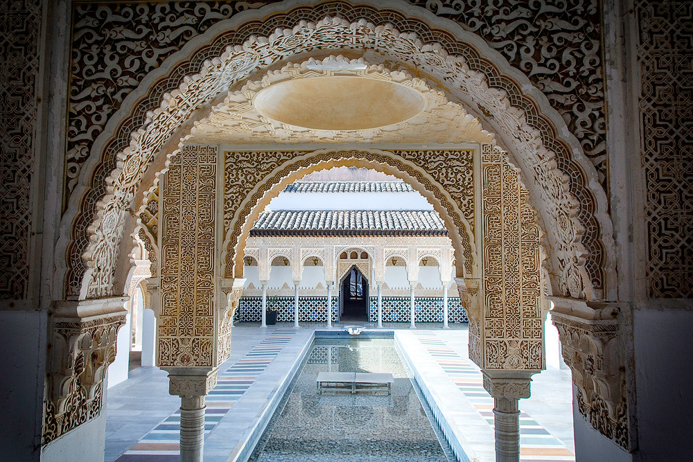 Der Nachbau der Alhambra im Spanischen Dorf