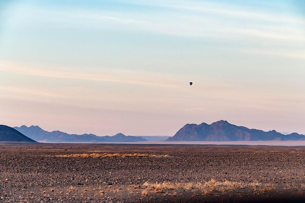 Heißluftballon Sossusvlei Namibia