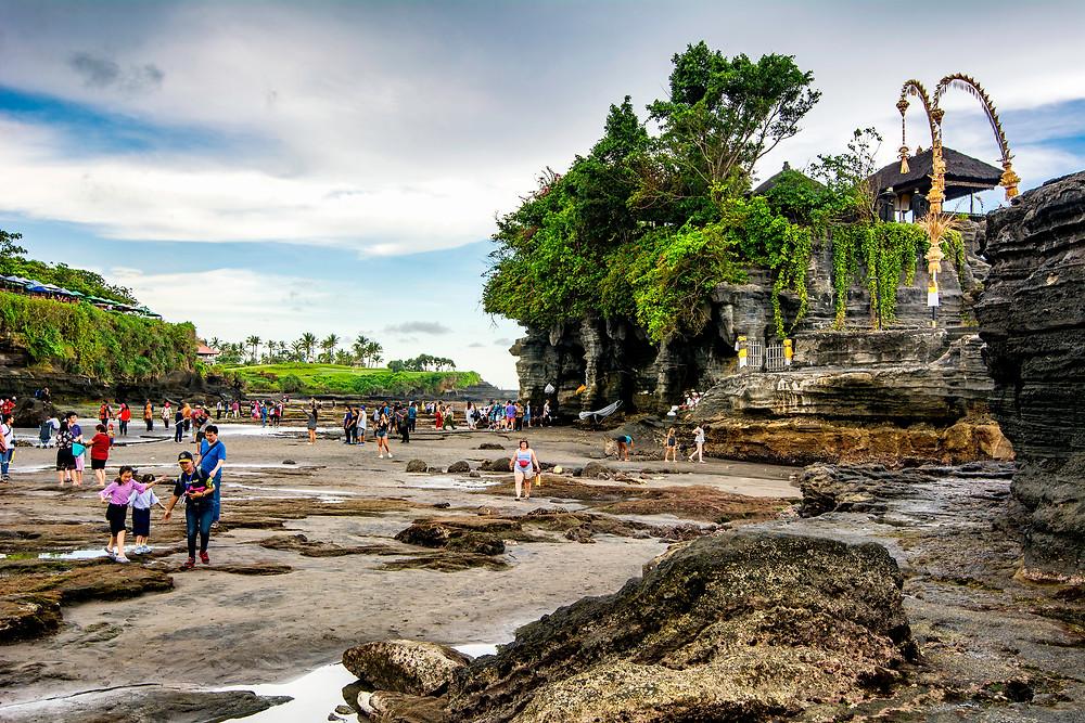 Tanah Lot Tempel Bali Indonesien