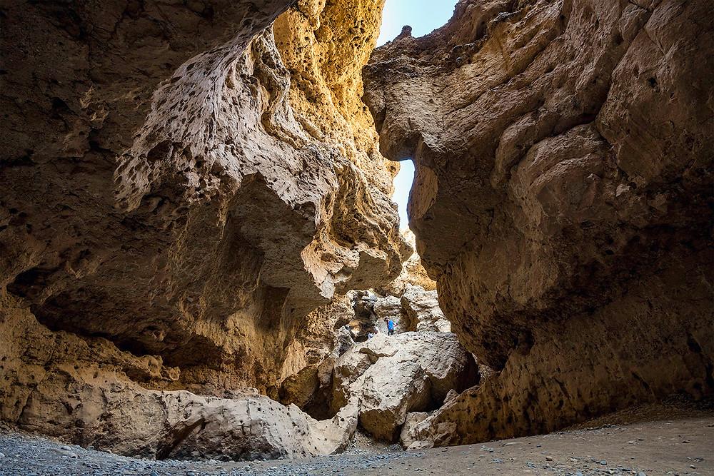 Ende des Sesriem Canyon