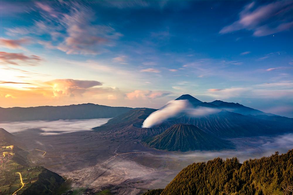 Mount Bromo Java Sonnenaufgang