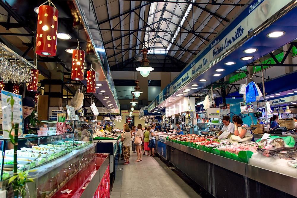 Markthalle Mercat de L´Olivar in Palma de Mallorca