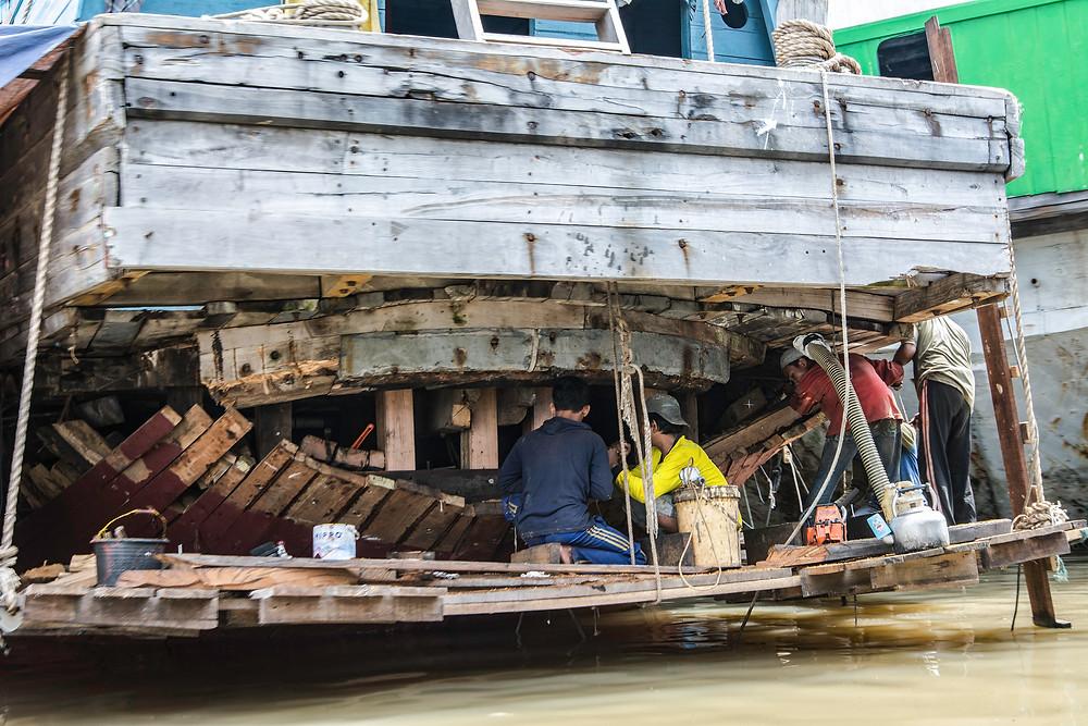 Reiseblog Frachtenseglerhafen Sunda Kelapa