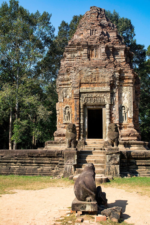 Preah Ko ist ein Tempel der Roluos Gruppe