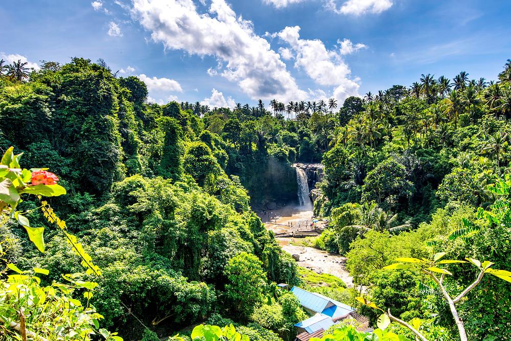 Tegenungan Wasserfall südöstlich von Ubud