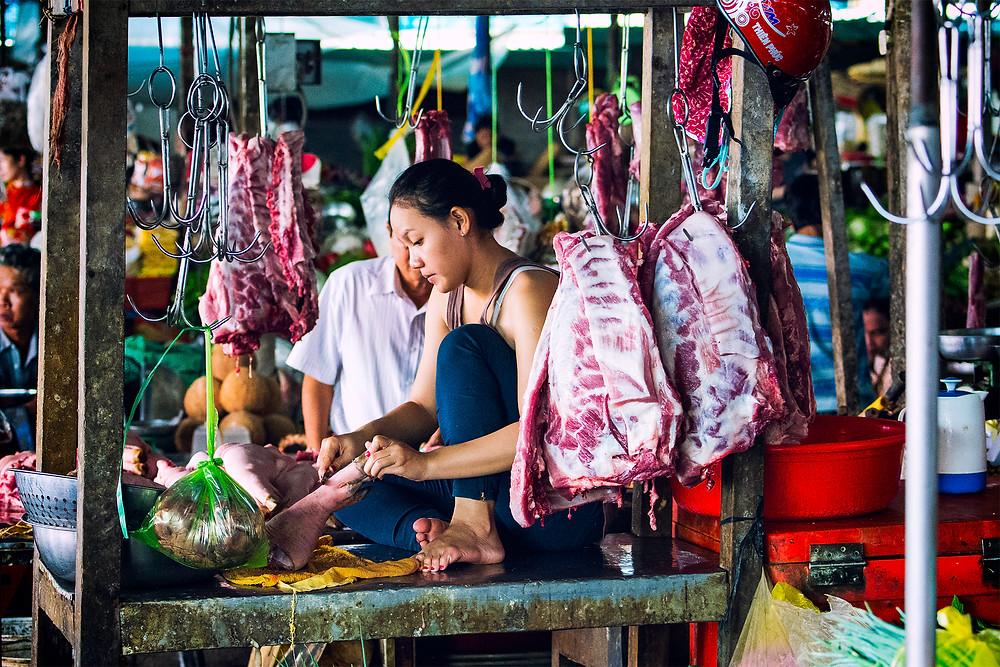Die Hygienebestimmungen in Vietnam unterscheiden sich leicht von denen in Deutschland.