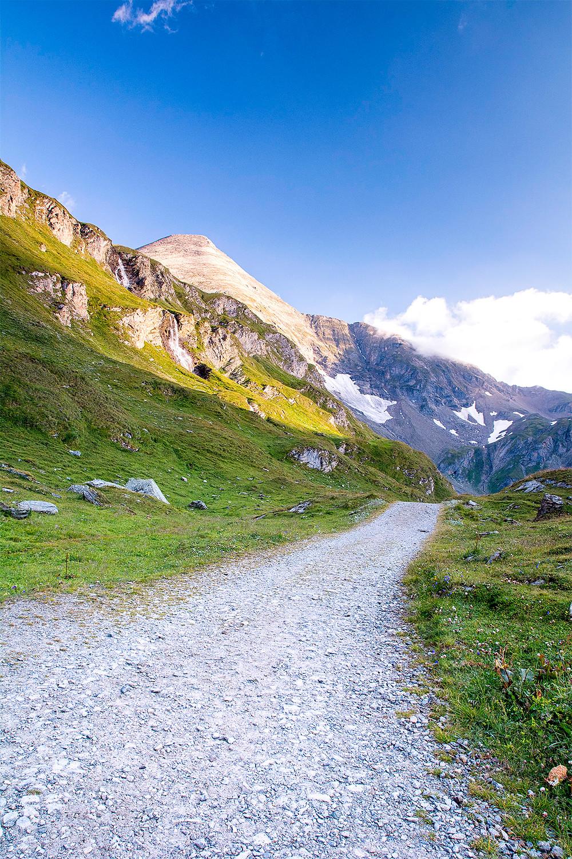 Wanderweg an der Großglockner Hochalpenstraße
