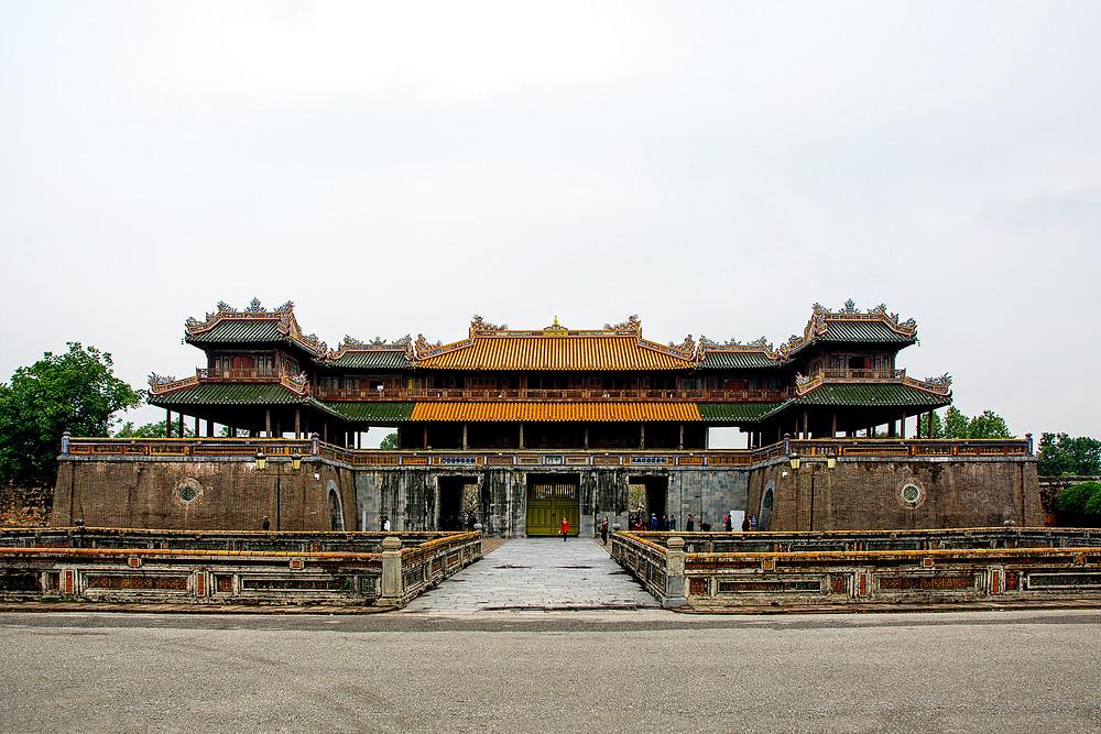 Der Eingang zur Kaiserstadt in Hue