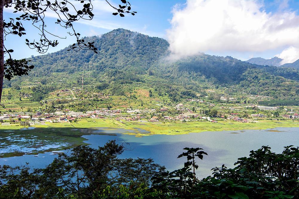 Der Buyan See auf Bali