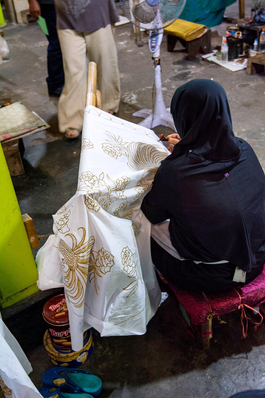 Reiseblog Batikfabrik Indonesien