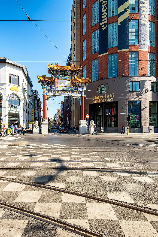 Tor zum Chinatown Antwerpen